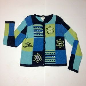 Christopher & Banks Vintage Snowflake Sweater